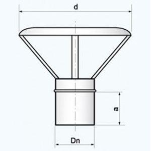 Obrazek Daszek - ED rozmiar 60/100 lub 80/122